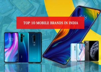 Top 10 Mobile Brands in India