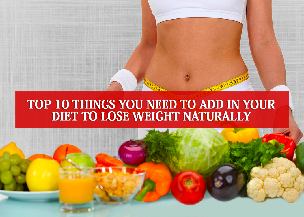 How can lose weight naturally