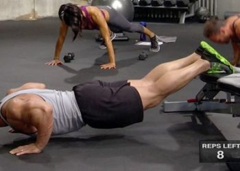 Elevated Push Up