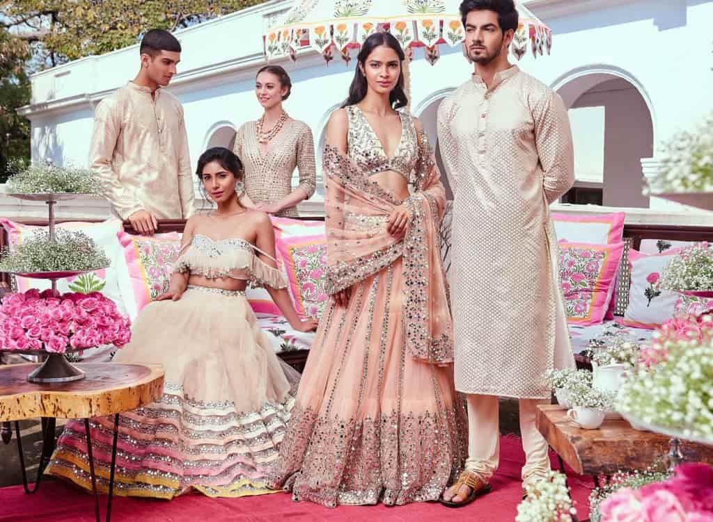 Abhinav Mishra, wedding dress designer