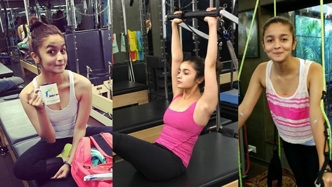 Alia Bhatt Workout
