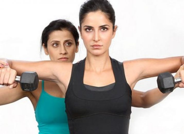 Katrina Kaif wORKOUT