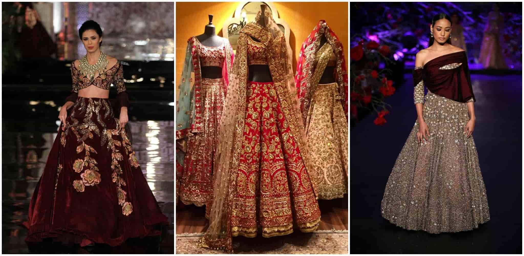 Manish Malhotra wedding dress designer