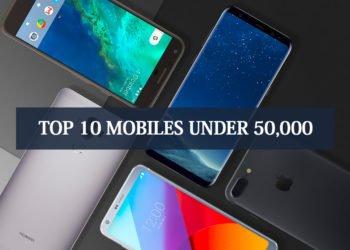 top 10 Mobile Under 50k