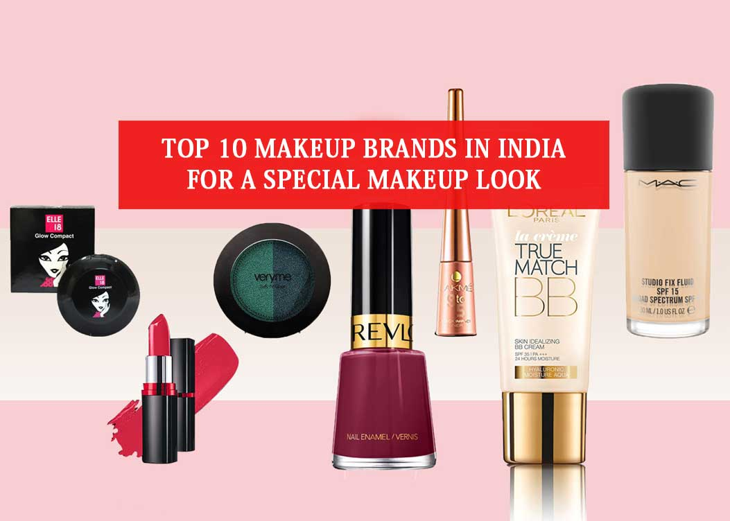 Top 20 makeup brands in India That Are Trending In 20