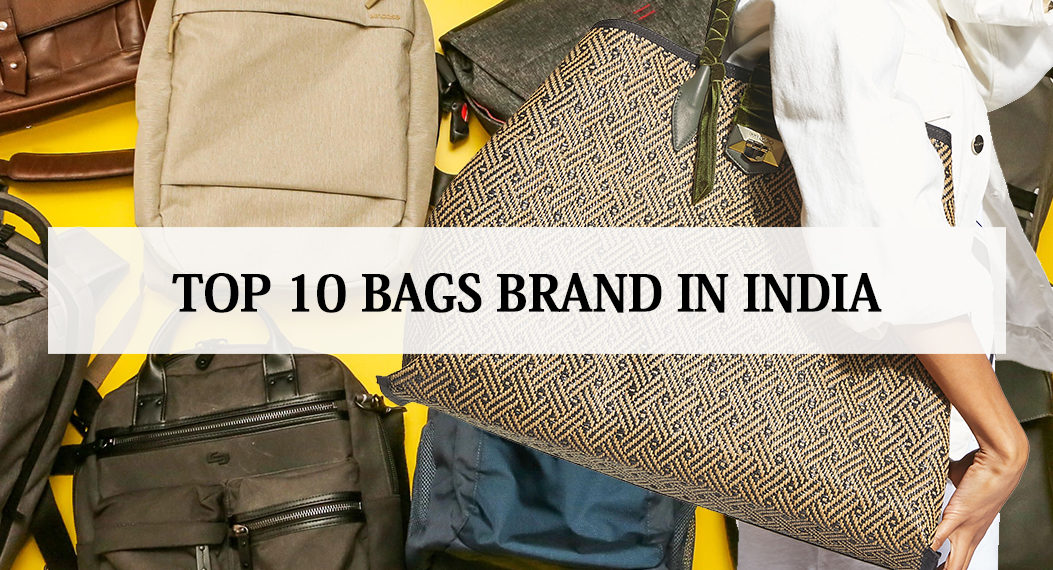 top 10 bag brands in india