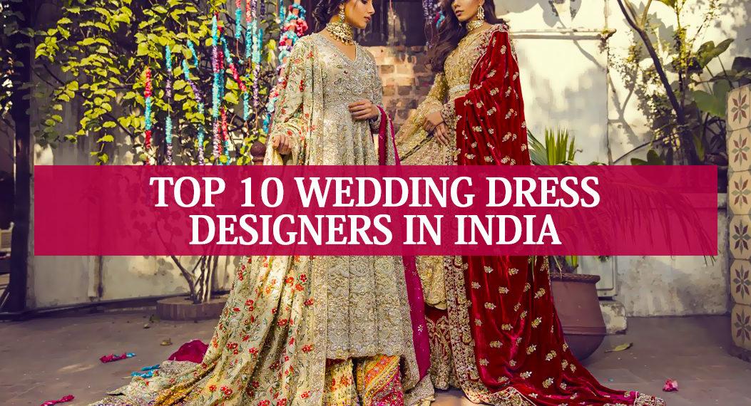top 10 wedding dress designers