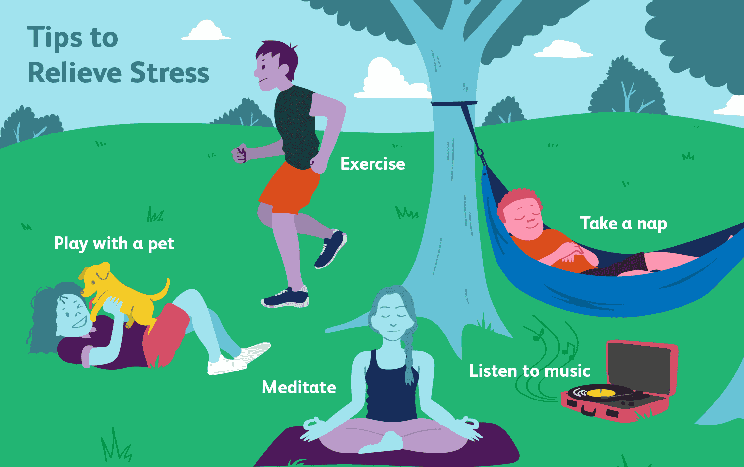 Reduce Stress And Anxiety Level