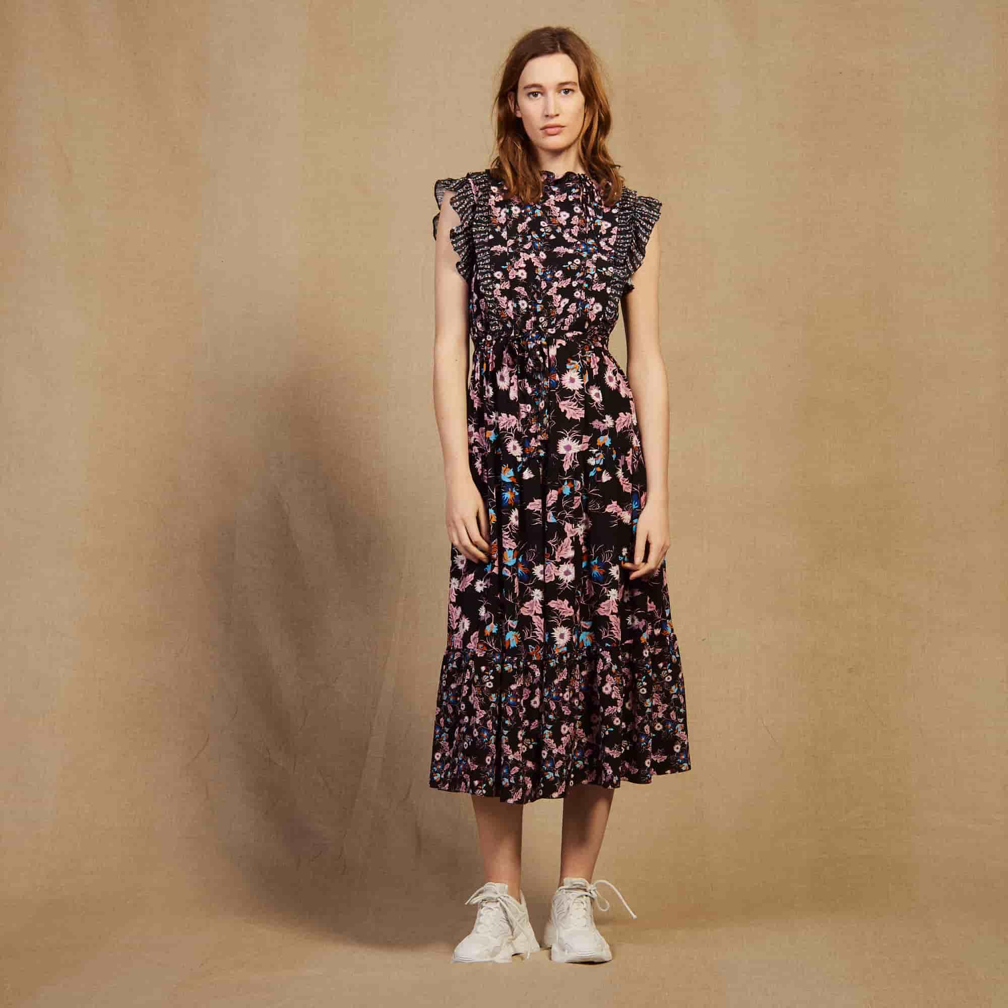 The Ruffled Dress, summer dress