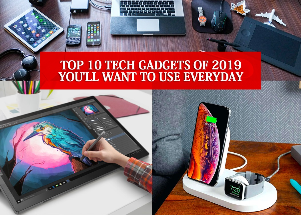 10 Best Tech Gadgets on Amazon in 2019 (You'll love this list!)