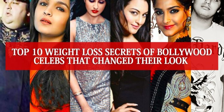 weight loss secrets of Bollywood Celebs