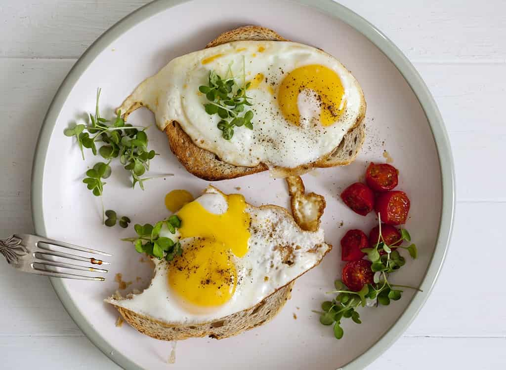 Wheat Toast with Eggs