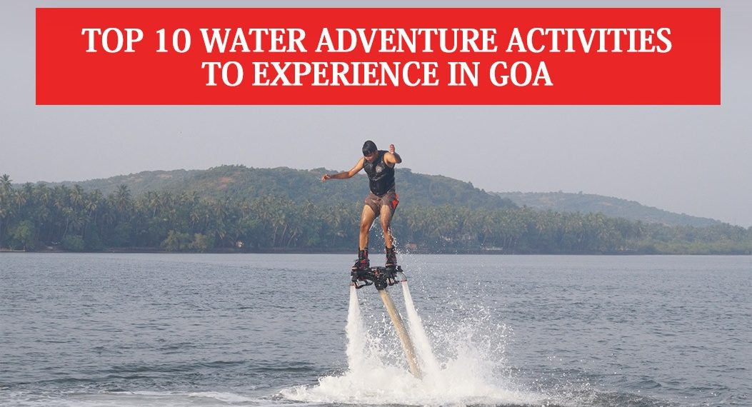 Water Adventure Activities in Goa