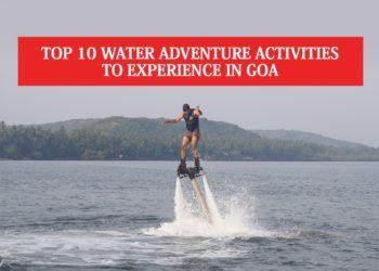 Water Adventure Activities in Goa