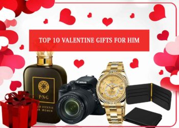 Top 10 Valentine Gifts for him