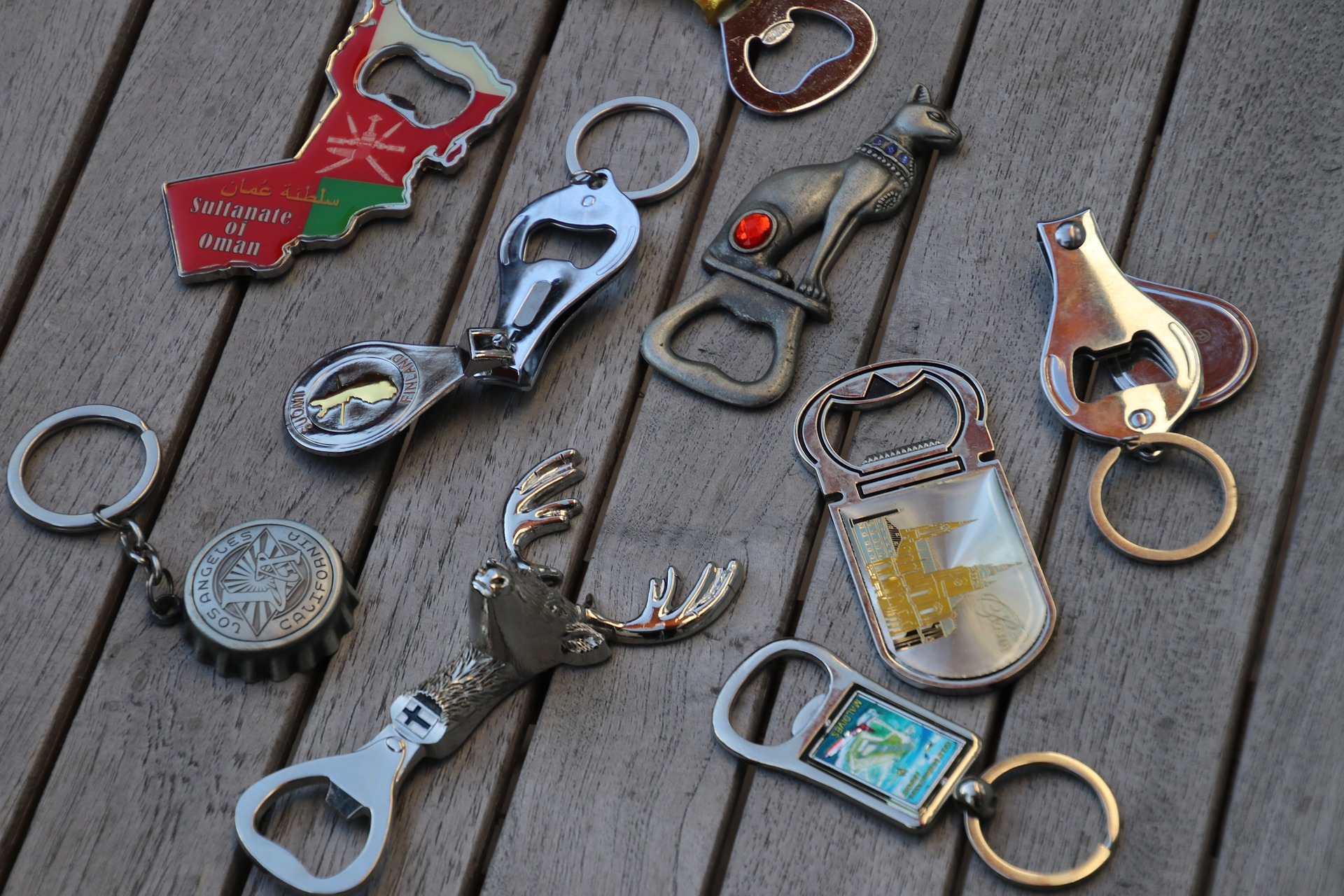 Bottle Keychains
