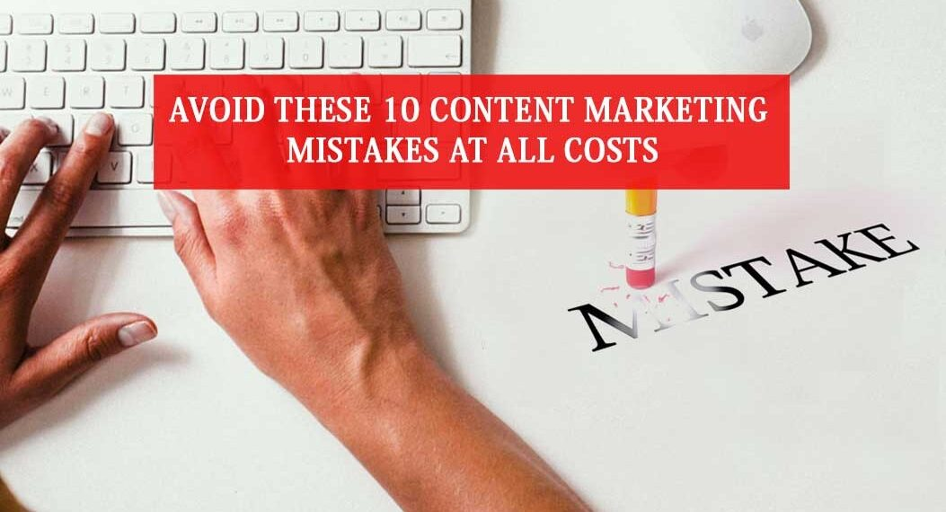 Content writing mistakes
